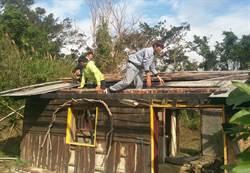 部落青年動起來 高士土磚屋重建ING