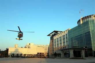 精實應變能力  直升機試降博愛營區