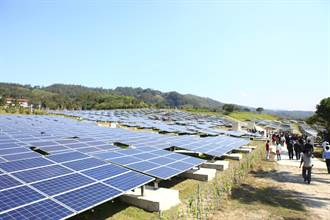 全國首座掩埋場變太陽能發電廠今啟用
