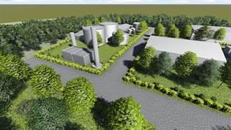 全國首創稻稈氣化發電 中市外埔堆肥廠變綠能