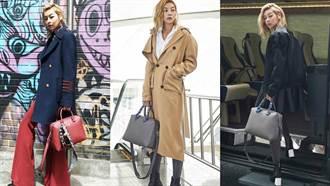 女星機場時尚必備MCM Ella手袋 春季推出全新粉嫩色