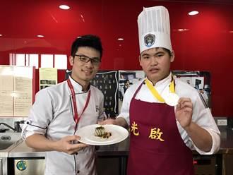 日本國際料理大賽 光啟高中師生奪雙金