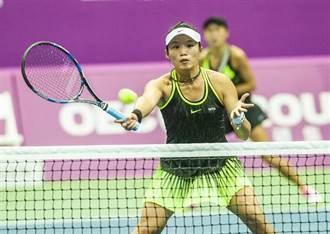 溫網》56分鐘剋前法網冠軍 莊佳容女雙闖32強