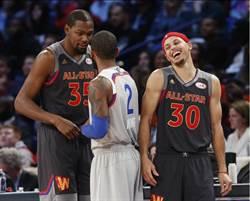 NBA》杜蘭特大三元 西區隊獲勝幕後功臣