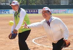 台中國際女壘賽開打 中日韓齊聚交流