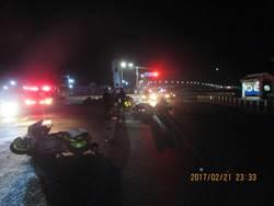 騎車與重機對撞 保二警員傷重不治