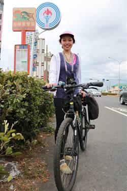 女藥師單車環島 二度感受台灣式熱情