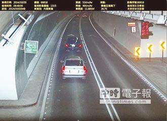 雪隧防龜速 最低速限70公里