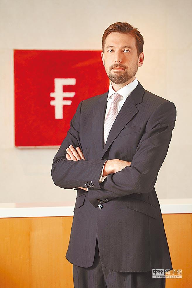 富達亞太高收益基金經理人Bryan Collins。