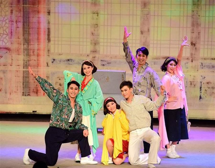 文和傳奇戲劇團於第三屆青年戲曲(圖/大稻埕戲苑提供)
