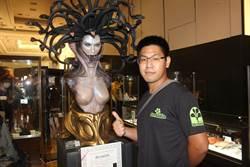 新光中山店玩家收藏展 27歲收藏家一擲逾百萬買模型