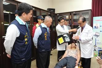12導程心電圖捐山城 救心肌梗塞添利器