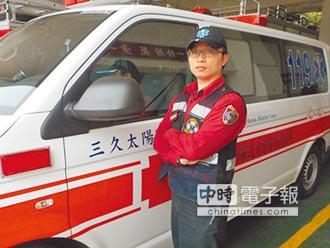 消防員CPR鬼門關前救回新生兒