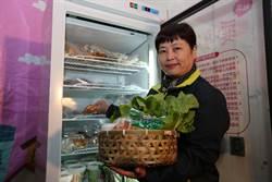 剩餘食材與民共享 竹市推愛享冰箱