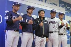 潘武雄2012年對田中開轟 今年對抗賽盡全力表現