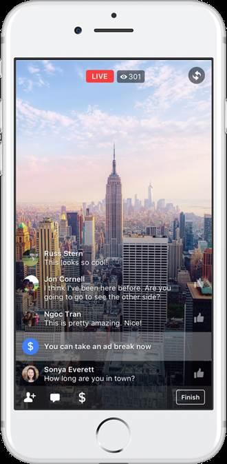 Facebook來搶錢 宣布啟動影音插播廣告