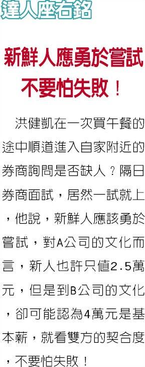 職場達人-jpp-KY專案經理 洪健凱2個半月 考齊13張金融證照