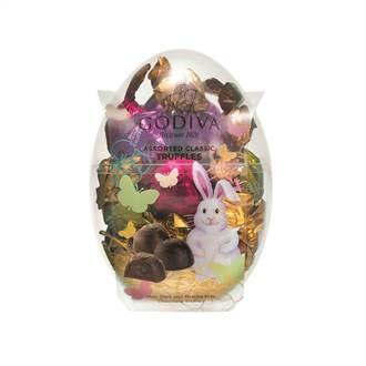 春回大地 兔兔、彩蛋外型巧克力搶搭復活節商機!