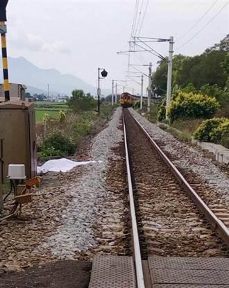 高一女跨越鐵軌 遭自強號撞死
