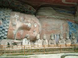 世界文化遺產  陸大足石刻臥佛啟動修復
