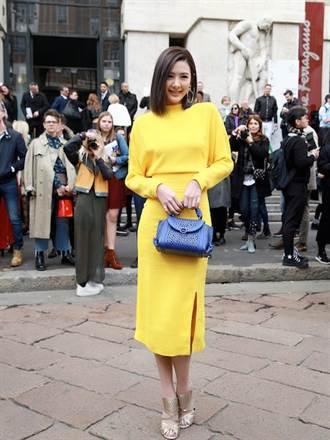 安心亞前進米蘭觀摩時尚 被封「秀霸」