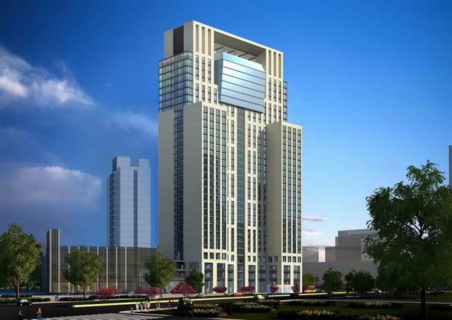 在新北市新板特區的希爾頓飯店有400間客房,並與板橋凱撒大飯店共構。(圖/凱撒飯店連鎖)