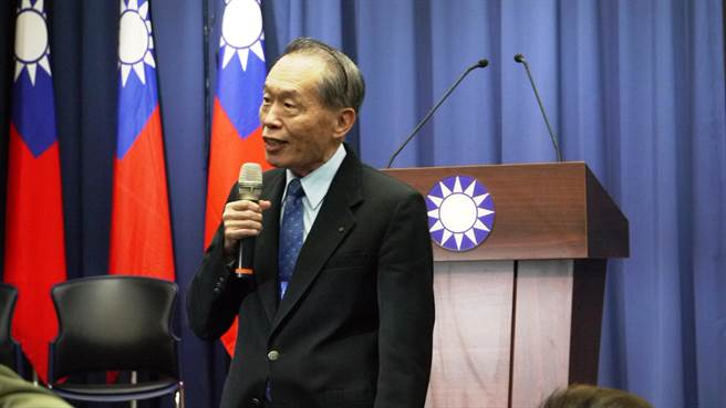 國民黨副主席陳鎮湘認為,319案12多年來還是個謎。(潘維庭攝)