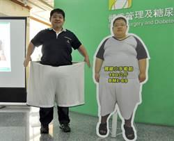 超級肥胖男鏟71公斤人肉 重拾信心