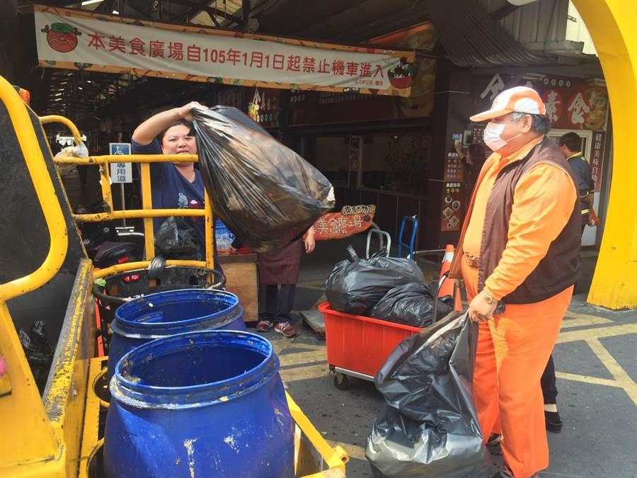雲林縣全縣積極實施垃圾減量,不希望垃圾隨袋徵收。(周麗蘭攝)