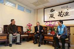 詹啟賢造訪花蓮  喻兩岸關係如醫師用藥