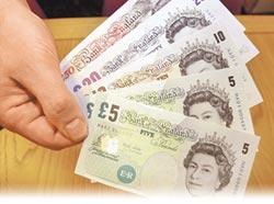 英鎊好便宜 兌台幣24年新低