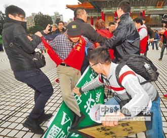228陳抗 毆警、燒國旗全遭函辦