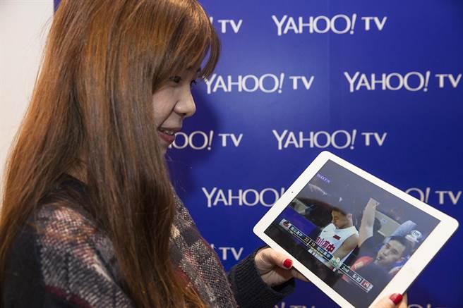 Yahoo TV LIVE直播為期兩天的HBL精采決賽,球迷可即時跨螢觀戰,隨時掌握第一手戰況。(YAHOO奇摩提供)