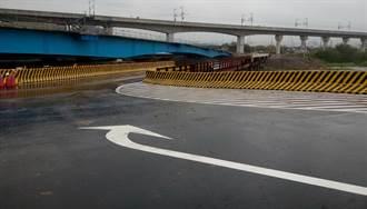 中市知高橋改建工程 7日起管線施工
