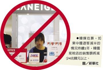 反韓升溫 中國擴大赴韓旅遊禁令