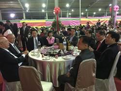 桃議員蘇家明娶媳婦席開250桌 藍綠同桌祝賀