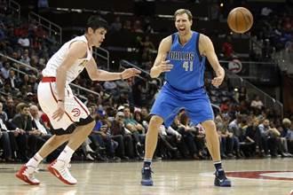 NBA》被虧詹姆斯更快3萬分 諾維茲基:氣炸了