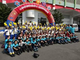 嘉市博愛國小樂旗隊 奪全國音樂賽南區決賽特優冠軍