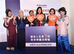 台灣人退休幸福指數73分 財務分數及格邊緣
