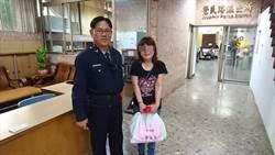 婦人經濟困頓 警方提供愛心物資度難關