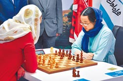 重慶妹好威 世界西洋棋奪后
