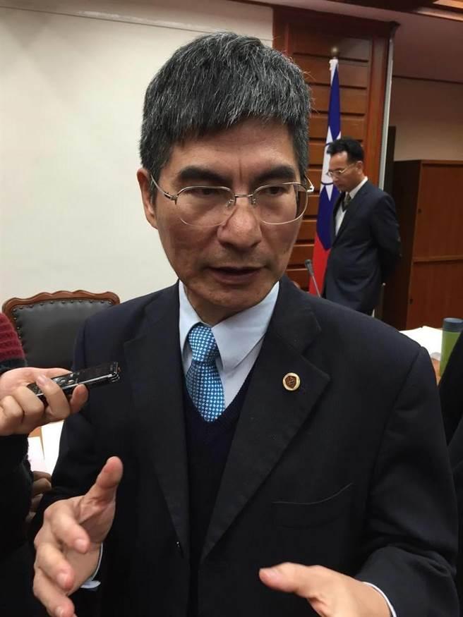 科技部長陳良基。(楊騰凱攝)