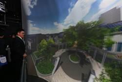 林佳龍招商日本松下電器,參與設計、興建水湳智慧城