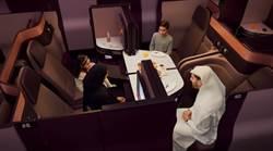 挑戰頂級飛行 卡達航空將推雙人床商務艙