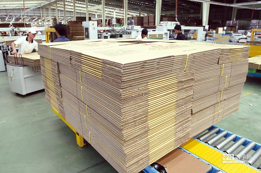 市況暢旺帶動,榮成工紙營運亮眼。圖/本報資料照片