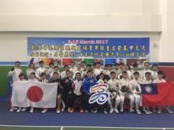日本現代五項青年國家隊 赴左營高中移地訓練