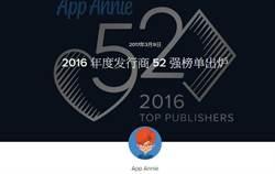 2016年App開發商誰最賺?