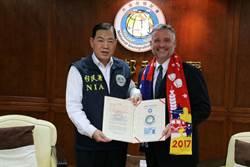 前美國AIT首席官員  獲頒台灣永久居留證