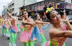 梅山汗路觀光文化祭踩街  重現汗路文化