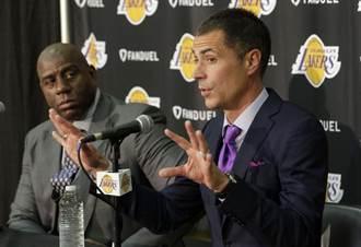 NBA》湖人新總管上任 魔術強生:做不好就走